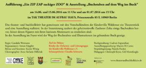 Flyer Ein Zip Zap zackiger Zoo2